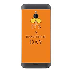 "Motivos Disagu Design Skin para Microsoft Nokia 230 Rückseite: ""IT´S A BEAUTIFUL DAY"""