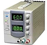 RSR Electronics Inc. DC Power Supply 0-60V; 0-3A