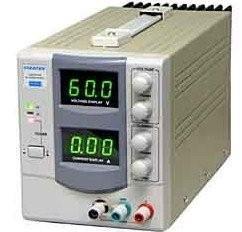 RSR Electronics Inc. DC Power Supply 0-60V; 0-3A