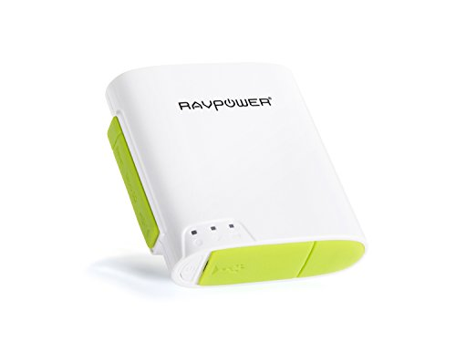 [6-in-1] RAVPower FileHub Wireless N Portable Pocket Travel Router Wireless Micro SD TF Card Reader with Built-in 6000mAh External Battery Pack,Wireless USB,Wireless Flash,Mobile Storage Media Sharing, WLAN Hot Spot and NAS File Server, Best Gadgets