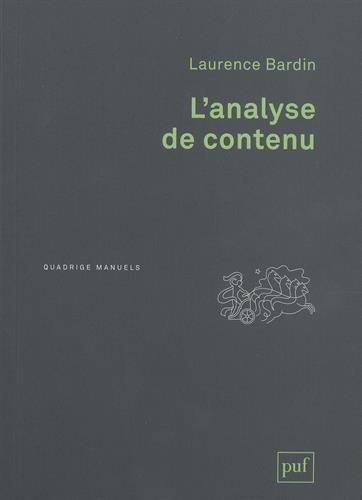 Analyse de contenu (L') [nouvelle édition]