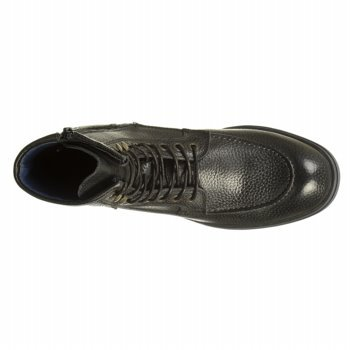 Kenneth Cole New York Mens Work Hours Rm 79761 Stivali Di Pelle Neri