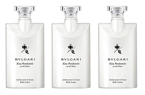 Bvlgari Au the Blanc  Body Lotion - Set of 3, 2.5 Ounce bott