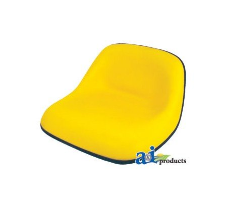 LMS2002YL Lawn / Garden Seat Yellow by A&I