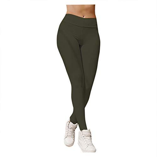 ZouYiL dames fitness yoga broek stretch sportbroek workout scrunch butt lifting leggings in volledige lengte…