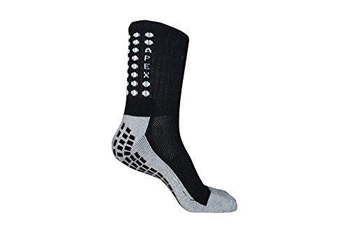 Anti Slip Soccer Socks Professional Non Slipping Football Socks with Skidproof Rubbers Adult Crew Cotton Sport Socks Trusox Style