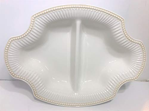 Lenox Butler's Pantry - Large Oval Divided Vegetable Bowl - 17 Inch ()