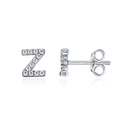 PAVOI 925 Sterling Silver CZ Simulated Diamond Stud for sale  Delivered anywhere in USA