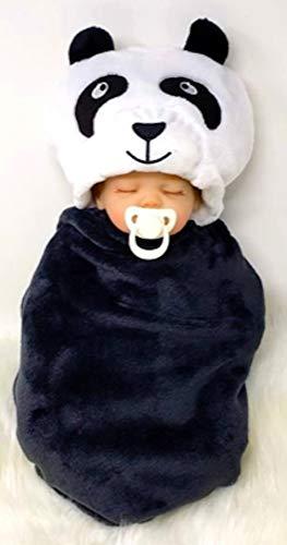 PrintingStGeorge Peter Baby Panda, Baby Swaddle, Baby Blanket, Baby Wrap, Animal Receiving Blanket, Baby Towel