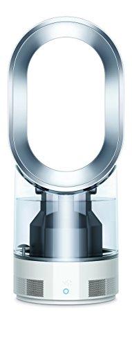 Dyson Air Multiplier AM10 Luftbefeuchter (Ultraviolet Cleanse Technologie, Ultraschall-Technologie, Ventilatorfunktion, Raumklimakontrolle, Auto-Modus, Sleep-Timer, Fernbedienung) weiß