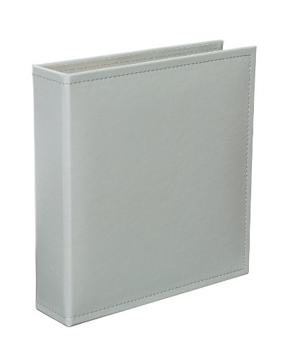 - Becky Higgins Grey 6x8 Faux Leather Album