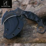 DAOMACHEN Claws blades Straight Claw Tactical Handle Outdoor Hunting Knife as a by DAOMACHEN (Image #5)
