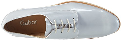 Gabor Scarpe Stringate, Donna Blu (90 Blue Grey)