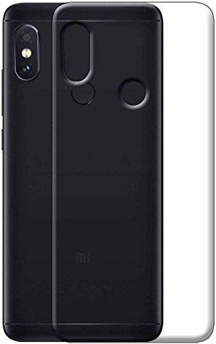 Trimanav Back Cover for Mi Redmi Note 5 Pro  White, Plastic, Rubber  Mobile Phone Cases   Covers