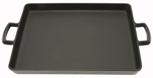 Iwachu Cast Iron Griddle and Teppanyaki Pan, Black