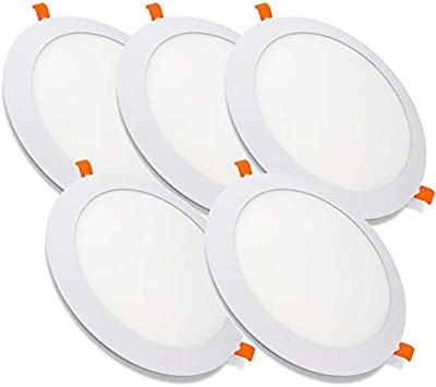 Pack de 5 Paneles LED Redondos ECOMAX · Downlight LED para ...