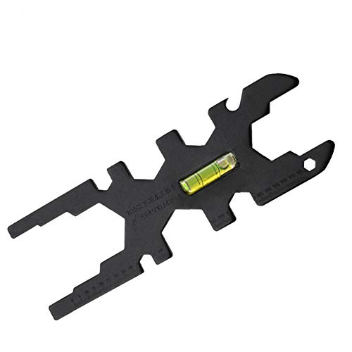 TTOP Plumber's Sink Wrench, Ideal for Removing and Installing Strainer Baskets Lock Nuts, Closet spuds, Drain Nuts and Flush Valve Nuts