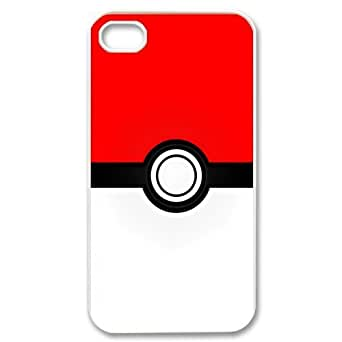 Pokeball - Unique Pokemon Hard cover Case for the iPhone 4 4s