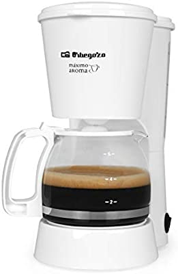 Cafetera de goteo ORBEGOZO CG4012B | ORBEGOZO 4-6 tazas: Amazon.es: Hogar