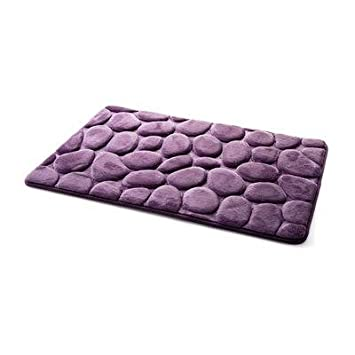 Coral Fleece Badezimmer Memory Foam Teppich WC Muster Bade Anti ...