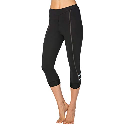 Terry Women's Cycling Bella Prima Knicker Best-in-Class Bicycling Performance Bottom That Extends Below The Knee - Black/Charcoal - Medium