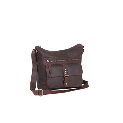 The Chesterfield Brand Victoria Borsa a tracolla pelle 25 cm Brown
