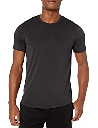 Amazon Brand - Peak Velocity Men's Smart Jersey Lightweight Crew Neck T-shirt