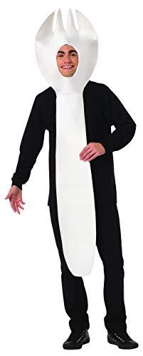 Big Spoon Costumes - Rasta Imposta Spornk Costume Fork Spoon