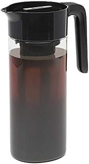 Goodful Cafeteira hermética fria gelada, estrutura de plástico Tritan durável à prova de quebra, tampa à prova