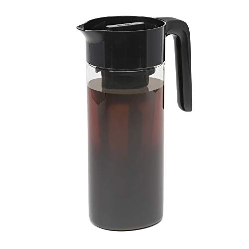 Goodful Airtight Cold Brew Iced Coffee Maker, Shatterproof Durable Tritan Plastic Construction, Leak-Proof Lid, Large…