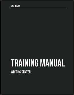 writing center training manual dr john p sloop 9781535274333