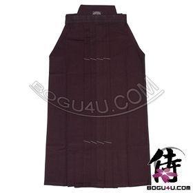 (Uh-011) Bogu4u= Top No.10000 Indigo High Rank Kendo Hakama (Including One Free Double-Knit Tenugui) by Bogu4u