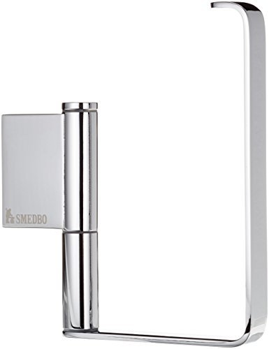 Smedbo Air Toilet Roll Holder without Lid, Silver by Smedbo by Smedbo