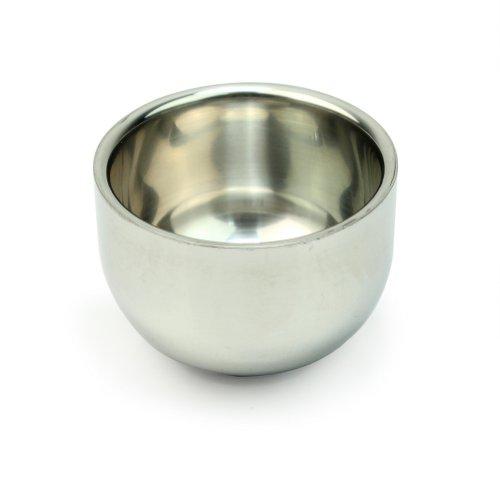 Durable Shave Savon de AllBeauty Hot Vente Hommes Coupe Shinning acier inoxydable Rasage Tasse Bowl