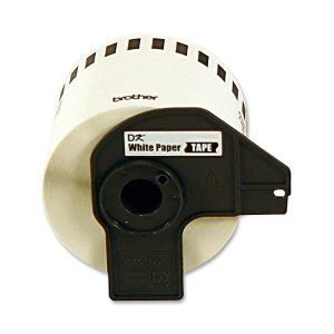- Brother P-Touch DK4605 Removable Paper Tape