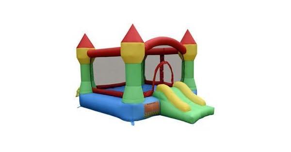 Amazon.com: Hinchable Mighty Bounce Casa Castillo Jumper ...