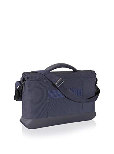 Nava Design Briefcase One Compartment Navy Blue