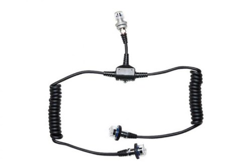Sea & Sea 5-Pin Dual Sync Cord for Connecting 2 Strobes to Nikonos or Motor Marine III Underwater Cameras.