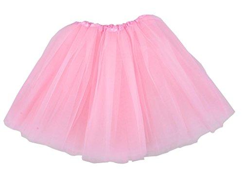 Ballerina Tutus For Women (Adult Classic 3-layered Tulle Tutu Ballet Skirts Ruffle Pettiskirt,)