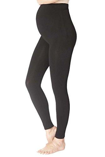 cb4414414a92e Seraphine Tammy Overbump Bamboo Active Maternity Leggings - Black -  Medium/Large