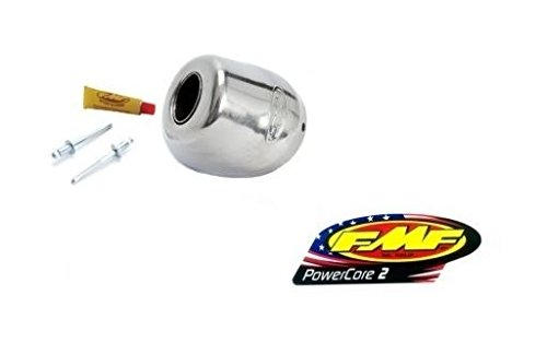 FMF Racing Rear Cone Cap for PowerCore 2 - 1.125in. 020462 (Fmf 2 Exhaust Powercore Silencer)