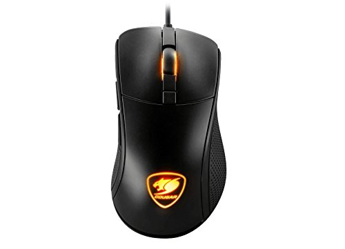 Cougar SURPASSION Gaming Mouse – with On-Board LCD Screen – PixArt PMW3330 Sensor – 50-7,200 DPI On-Board Setting