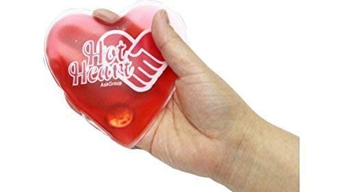 Hand Warmers Hot Cold Reusable Pack - by Hot Heart Cloth Bac