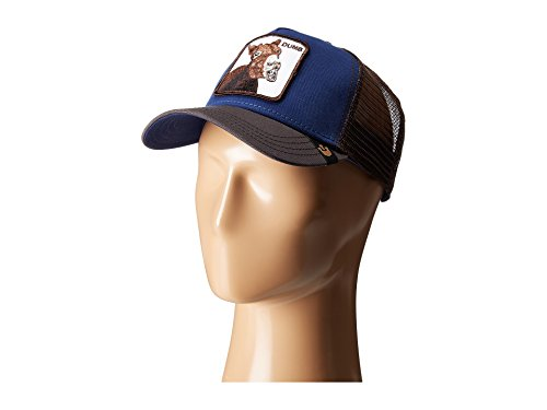 Goorin Brothers Unisex Animal Farm Snap Back Trucker Hat Royal Dumbass One Size