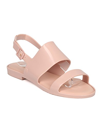 Melissa's Women Jelly Slingback Sandal - Casual, Comforta...