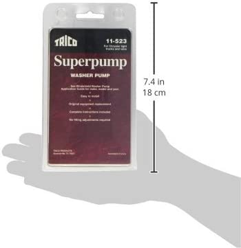 Trico 11-523 Spray Windshield Washer Pump-Pack of 1