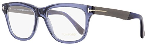 Tom Ford FT5372 Eyeglasses 090 Blue / Clear Lens 54mm by Tom Ford