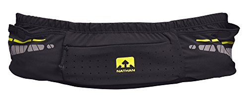 Nathan NS4913 Vaporkrar Running Fitness Waist Pack with Soft 18oz Flask, Black, Large/X-Large