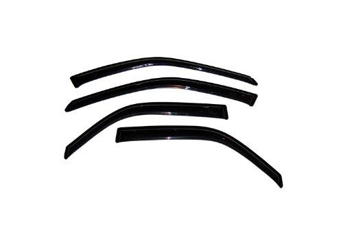 (Auto Ventshade 94856 Original Ventvisor Side Window Deflector Dark Smoke, 4-Piece Set for 1997-2001 Toyota Camry)
