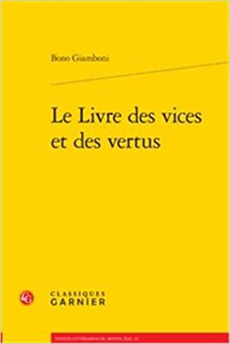 Livre gratuits Le livre des vices et des vertus pdf, epub ebook